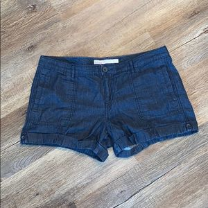 Old Navy Mid-Rise Denim Cuffed Shorts, 10